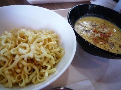 クリームスープつけ麺1
